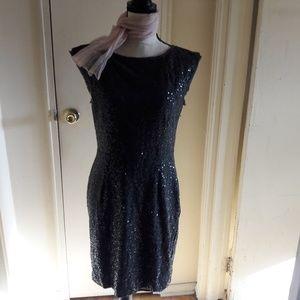 Women's Sequin Dress Stretch Evening